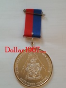 Medaille :Netherlands- Shooting Association / Tournage / Schietvereniging  Contact Old Marines 1990 - Pays-Bas - Netherland