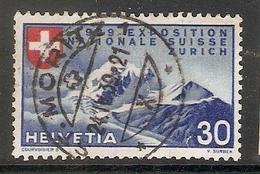 004604 Switzerland 1939 Exhibition 30c FU - Used Stamps