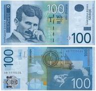 Serbia 100 Dinara 2013 Pick 57.b UNC - Serbia