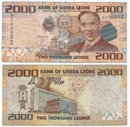 Sierra Leona 2.000 Leones 2010 Pick 31 Ref 965 - Sierra Leona