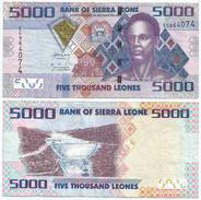 Sierra Leona 5.000 Leones 2010 Pick 32 Ref 966 - Sierra Leona