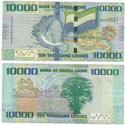 Sierra Leona 10.000 Leones 2010 Pick 33 Ref 967 - Sierra Leona