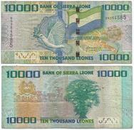 Sierra Leona 10.000 Leones 2010 Pick 33 Ref 1277 - Sierra Leona