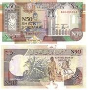 Somalia 50 Shilin 1991 Pick R2.1 UNC - Somalia