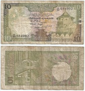 Sri Lanka 10 Rupees 1985 Pick 92.b Ref 1278 - Sri Lanka