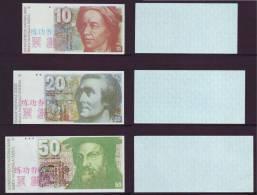 (Replica)China BOC Bank Training/test Banknote,Switzerland Schweiz SFR A Series 6 Different Note Specimen Overprint - Switzerland
