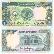 Sudan 1 Pound 1987 Pick 39 UNC - Sudan