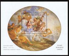 Czech Republic 2001 / Baroque Art / Art Allegory In Vrtbovska Garden, Prague - Neufs