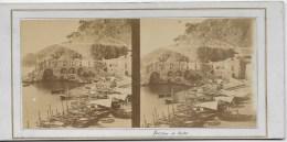 Petit Port De Pêche Aux Environs De Naples - Stereoscopio