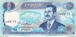 IRAK 100 DINARS 1994 P-84b NEUF MARQUE DIACRITIQUE AU-DESSOUS DES LETTRES [IQ340c] - Iraq