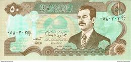 IRAQ 50 DINARS 1994 P-83a UNC [IQ339a] - Irak