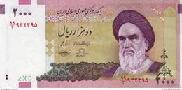 IRAN 2000 RIALS ND (2010) P-144d UNC SIGN. BAHMANI & HOSSEINI [IR279d] - Iran