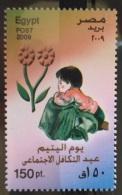E24 - Egypt 2009 MNH Stamp - Orphins Day - Egipto