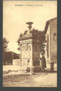 CP CAUSSADE Tarn Et Garonne  La Fontaine Le Thouron Edition Raujol - Caussade