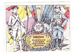 Vignette Militaire Delandre - 10ème Régiment D'infanterie - Vignettes Militaires