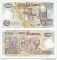 Zambia 500 Kwacha 2011 Polímero Pick-43-h UNC - Zambia