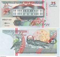 Surinam - Suriname 25 Gulden 1998 Pick 138.d UNC - Surinam