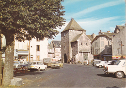 CPSM/gf  (12)  MUR-DE-BARREZ.  La Place Et La Tour De Monaco. ..F539 - Autres Communes