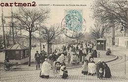 LORIENT PROMENADE DU COURS DES QUAIS 56 - Lorient