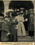 Einweihungsfeier Der Deutsch-protestantischen Kirche In Heluan Bei Kairo / Druck,entnommen Aus Zeitschrift/  1908 - Livres, BD, Revues