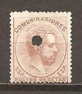 España/Spain - (usado) - Edifil Telégrafo 128T - Yvert 127 - Telegramas