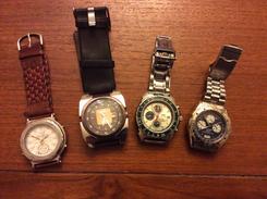 Lot De Montre  Montre De Plongée Et Autre Vintage - Watches: Modern