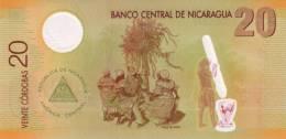 NICARAGUA P. 202 20 C 2007 UNC - Nicaragua