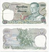 Tailandia - Thailand 20 Bath 1981 Pick 88.9 Ref 1283 - Tailandia