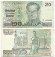 Tailandia - Thailand 20 Bath 2003, Firma 9 Pick 109 Ref 1284 - Tailandia