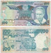 Tanzania 100 Shilingi 1986 Pick 14.a Ref 1288 - Tanzania