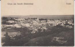 Romania,Rumanien,Roumanie - Bukowina,Bucovina - Sereth,Siret - Totale - General View - Romania