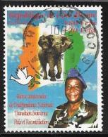 Ivory Coast, Scott # 1064 Used Independence Anniv, 2000 - Côte D'Ivoire (1960-...)