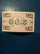 Chemin De Fer TP N° CF167 ** Surcharge Renversée Signé - 1923-1941