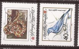 1992 207-08 TIERE UMWELT WWF  HRVATSKA CROAZIA KROATIEN MNH - Unused Stamps