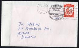 Orange WineBird On Duel Dated Postal Cover. - New Zealand