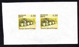 New Zealand Wine Post Yellow Wine Barrels Imperf Pair - New Zealand