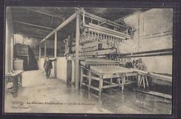 CPA 34 - BEZIERS - La Glacière Coopérative Et Sa Salle De Démoulage - SUPERBE PLAN INDUSTRIE MACHINE ANIMATION Ouvriers - Beziers