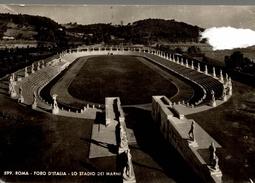 CPSM Roma Foro D'Italia Lo Statio Dei Marmi - Stadiums & Sporting Infrastructures