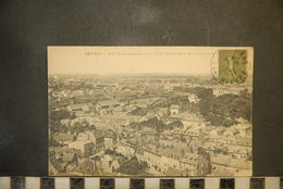 Cp, 58, Nevers , Vue Panoramique , Coté De La Rotonde Et Des Casernes - Nevers