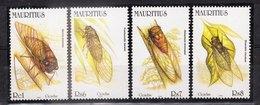 ILE MAURICE (MAURITIUS) - Timbre Poste Année 2002 - N° 952 à 955 (4 Timbres) - Cicadas - Mauricio (1968-...)
