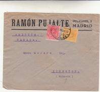 Madrid To Kingston, Ontario. Canada. Cover - 1931-50 Storia Postale