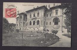 CPA ROUMANIE - BUCAREST - BUCURESTI - Palatul Cotroceni - TB PLAN EDIFICE + TB Oblitération Verso 1906 - Romania