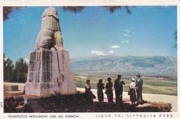 ISRAEL---Trumpeldor Monument And Mt. Hermon---voir 2 Scans - Israel