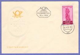 DDR SC #238 1955 Russian War Memorial FDC 04-15-1955 - [6] Democratic Republic