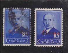 TURQUIE   1945  Y.T. N° 1026  NEUF*  Et  Oblitéré - 1921-... Republic