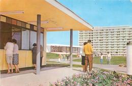 D1001 Romania Mamaia Hotel Flora 1963 - Rumänien