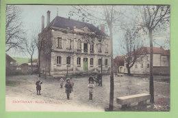 SANTENAY : Ecole Et Château . TBE. 2 Scans. Edition Bauer Marchet à Dijon - France