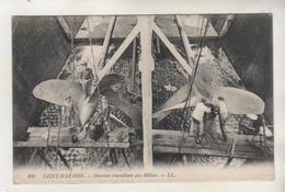 SAINT NAZAIRE - Ouvriers Travaillant Aux Hélices - Bateau - Industrial