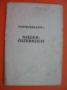 POSTKURSKARTE.NIEDER-OSTERREICH - Cartes