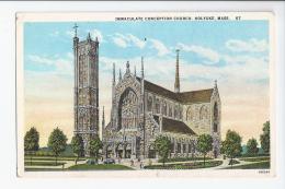 CPA E.U- MASSACHUSETTS - HOLYOKE - IMMACULATE CONCEPTION CHURCH - United States
